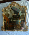 Specchio Barocco stile (120x130)
