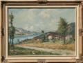 Quadro Paesaggio di lago