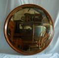 Specchio tondo cornice faggio (d. 60)