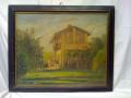 Quadro casa rurale (41x50)