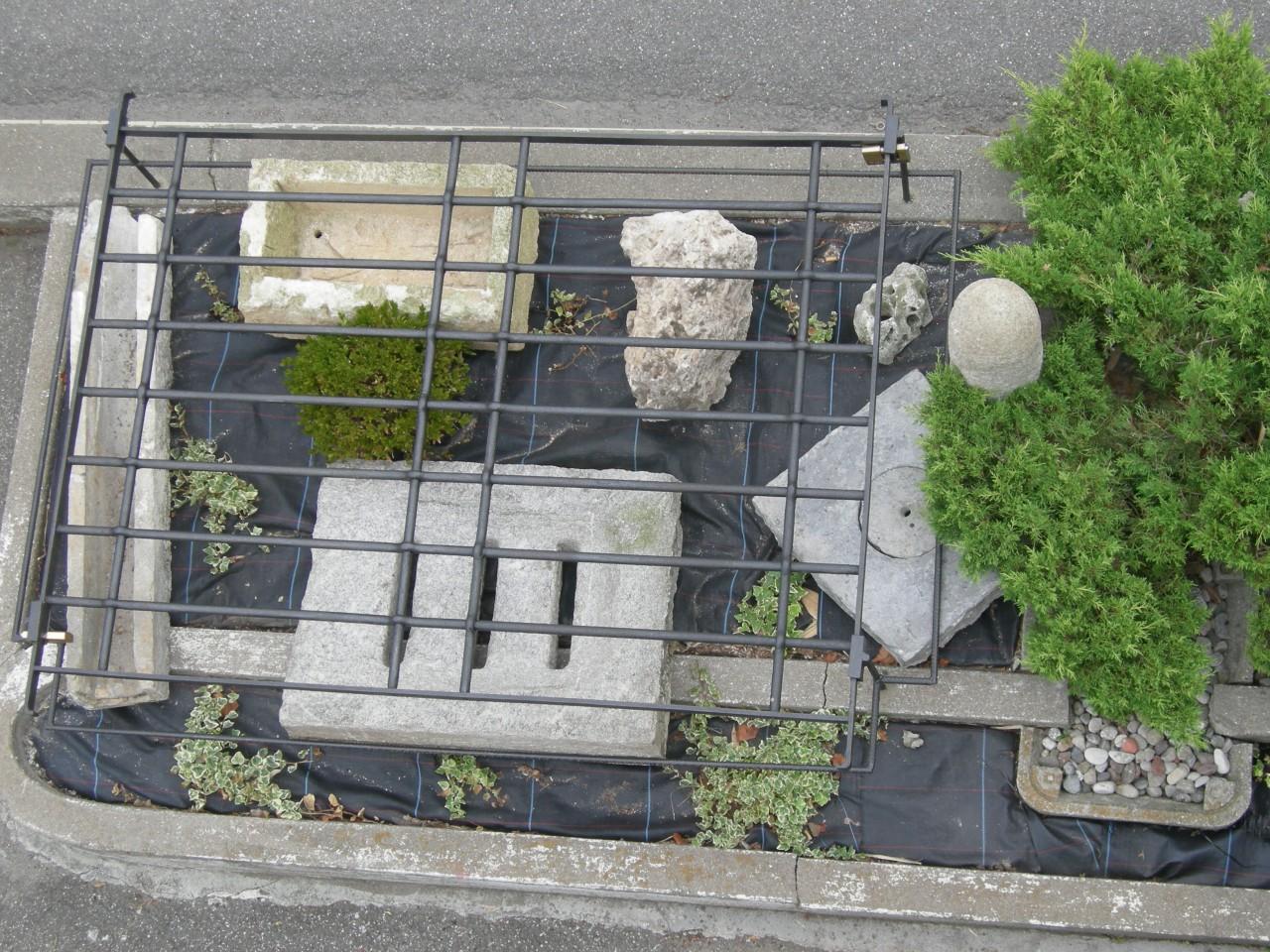 elementi in pietra da giardino brocante mollard