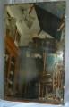Specchio molato anni '40 (44x72h)
