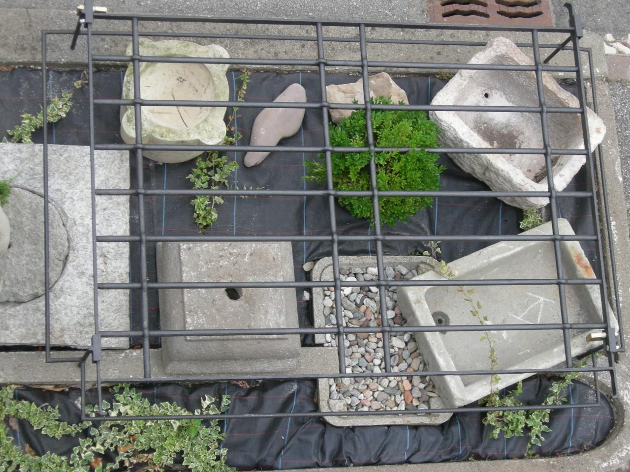 elementi da giardino pietra brocante mollard