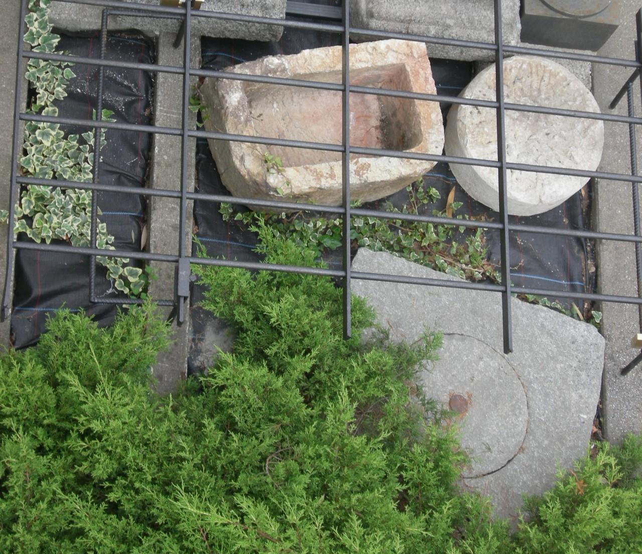 elementi da giardino in pietra brocante mollard