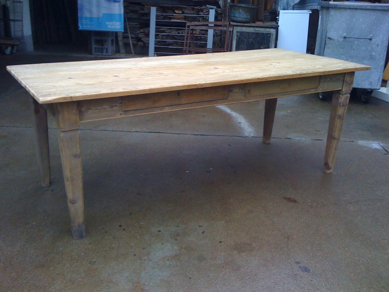 tavolo abete fine 39 700 brocante mollard